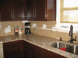 Our new granite countertops